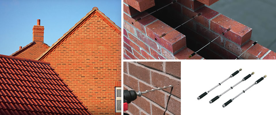 Rem Tie Wall Tie Replacement Specialists in the North East, Newcastle, Durham, Sunderland, North Shields.