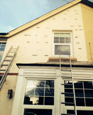 Render Finish Ties Inserted - Rem-tie Ltd in North East, Newcastle, Durham, Sunderland, North Shields